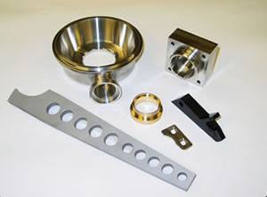 Machined Parts for Food Processing Equipment